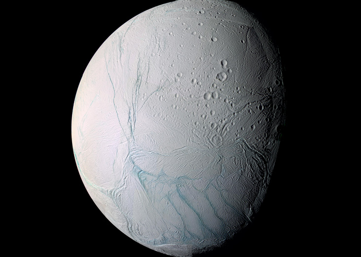How the ice moon Enceladus got its tiger stripes