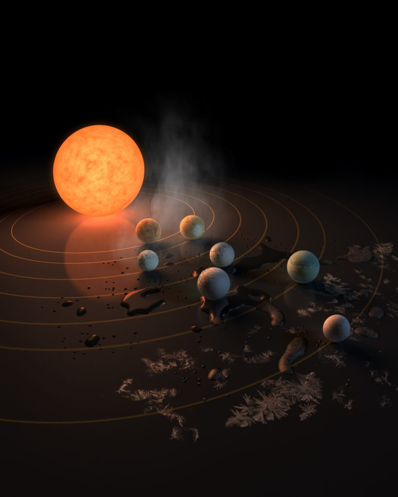 A better weather report for the seven worlds of the Trappist system
