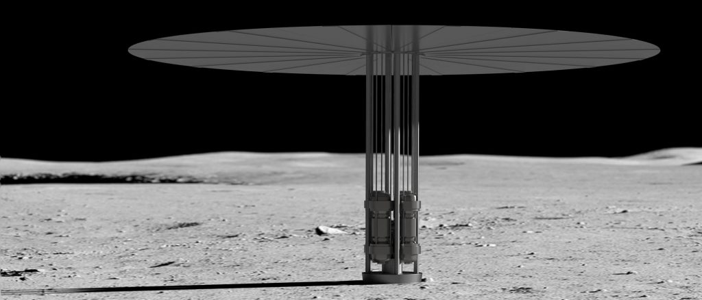 Project KRUSTY: NASA wants to operate low-power nuclear reactors on the Moon and Mars