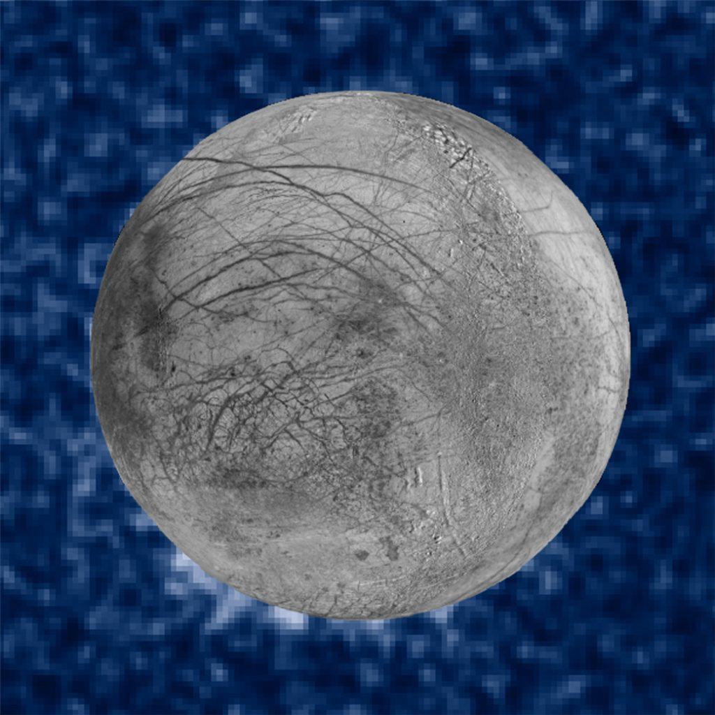 Ice geysers also on Jupiter's moon Europa