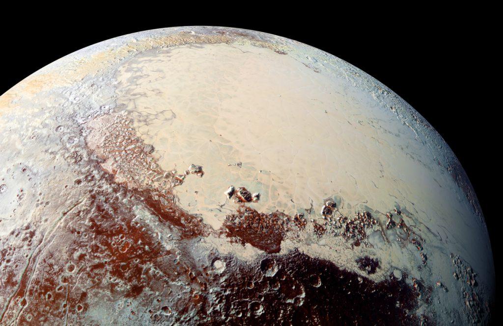 Dwarf planet Pluto – a gigantic comet?