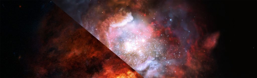 Lifting the veil from star-formation areas: more heavyweights than thought