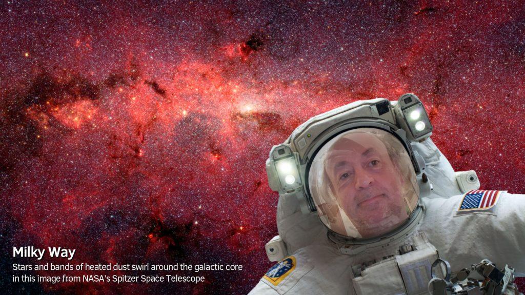 Selfies in space: cool NASA app