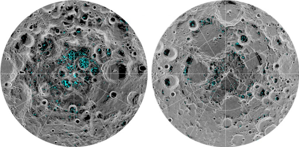 Confirmed for the first time: there's ice on the surface of the Moon