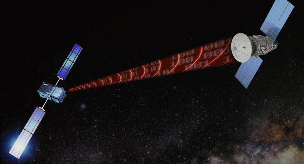 Can gravitational waves be used to transmit data?