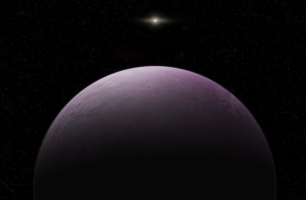 """Way, way out there: """"Farout"""" is a pink dwarf planet"""
