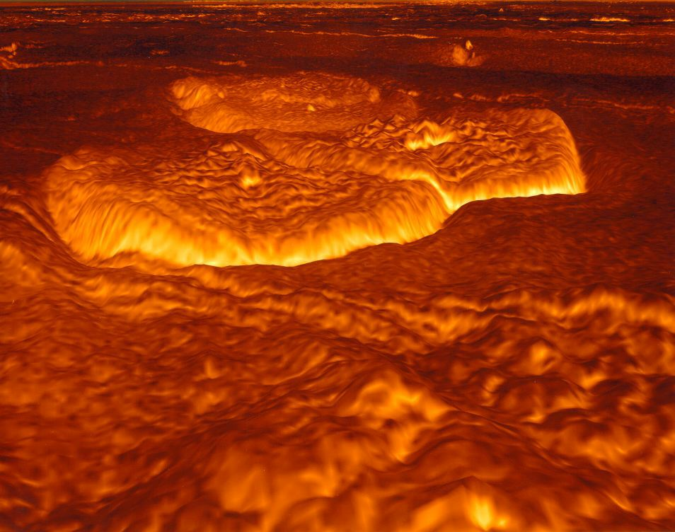 Gigantic patterns in the clouds of Venus – and how they are formed