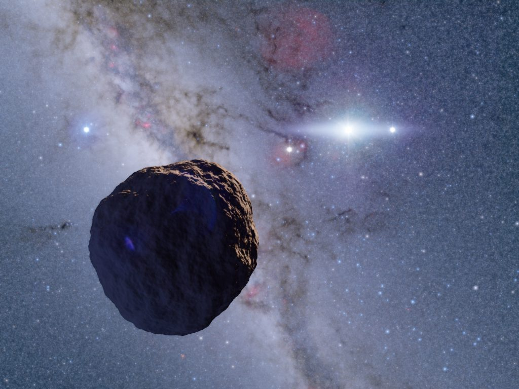 Missing member of planetary development discovered in the Kuiper belt