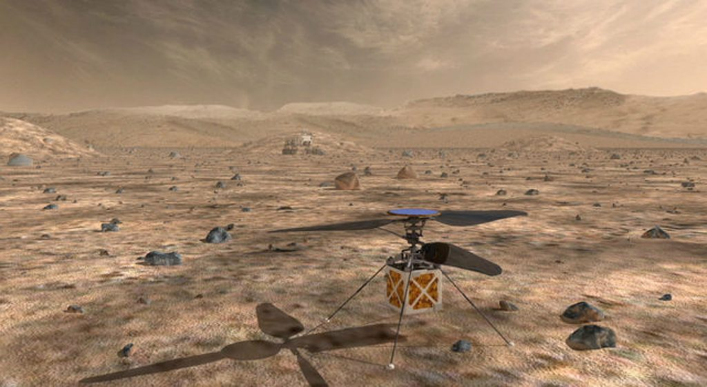 Is it possible to fly on Mars?