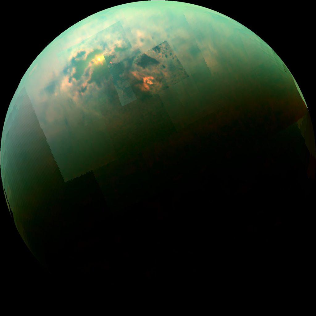 Karst lakes on Titan