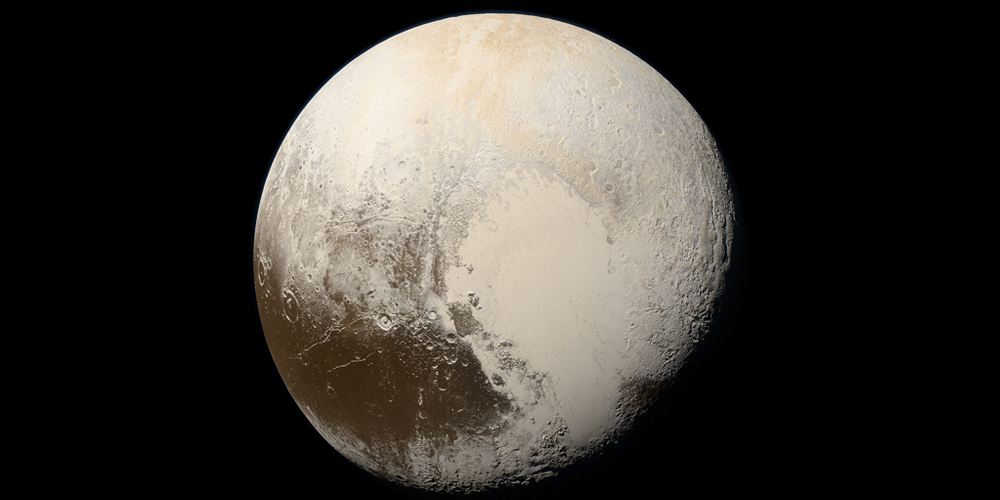 Gas-hydrate layer keeps Pluto's ocean warm