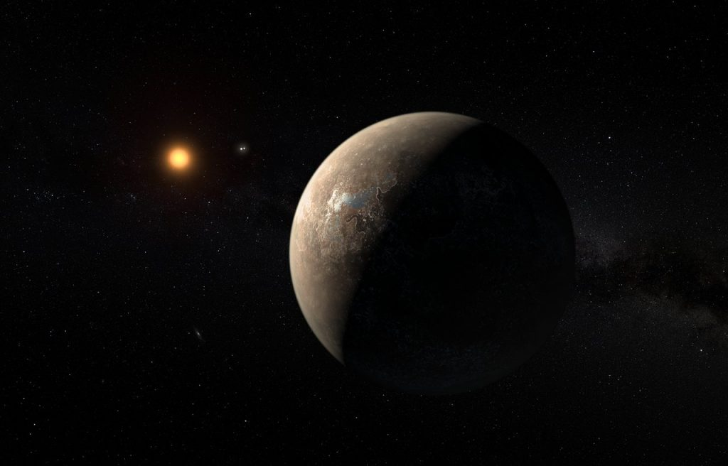 Mysterious Signal from Proxima Centauri
