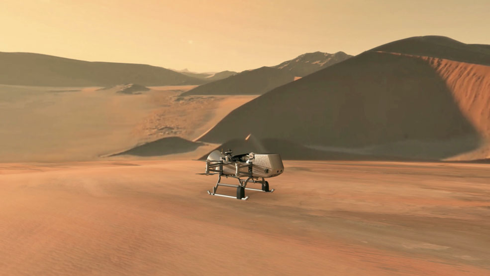 Launch of Dragonfly Mission to Saturn's moon, Titan, planned for 2026