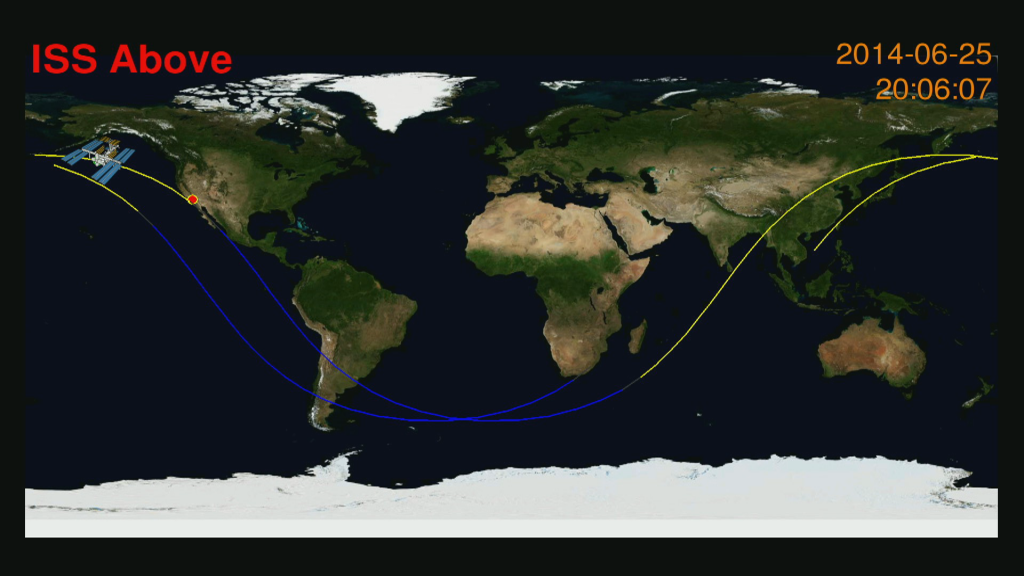 ISS Above: your direct line to the International Space Station