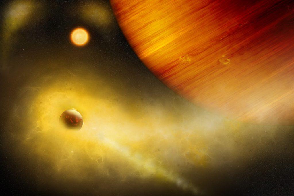 Exo-Io: volcanic exomoon in orbit around WASP-49 b?