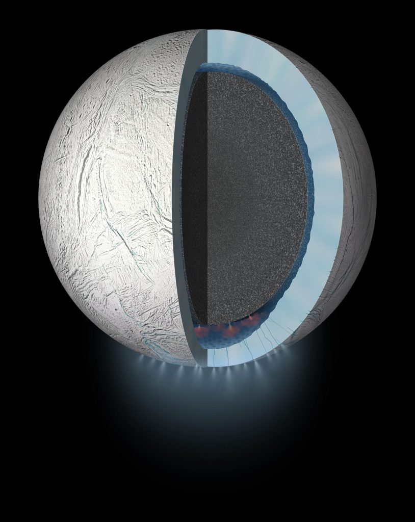 What's going on at the bottom of Enceladus's oceans?