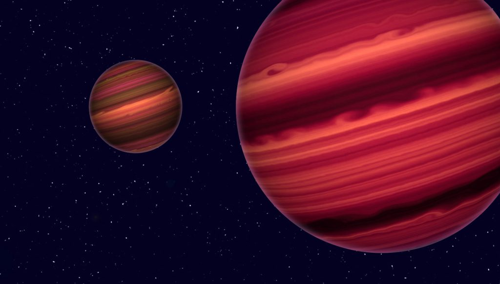 Triple system made from brown dwarfs discovered
