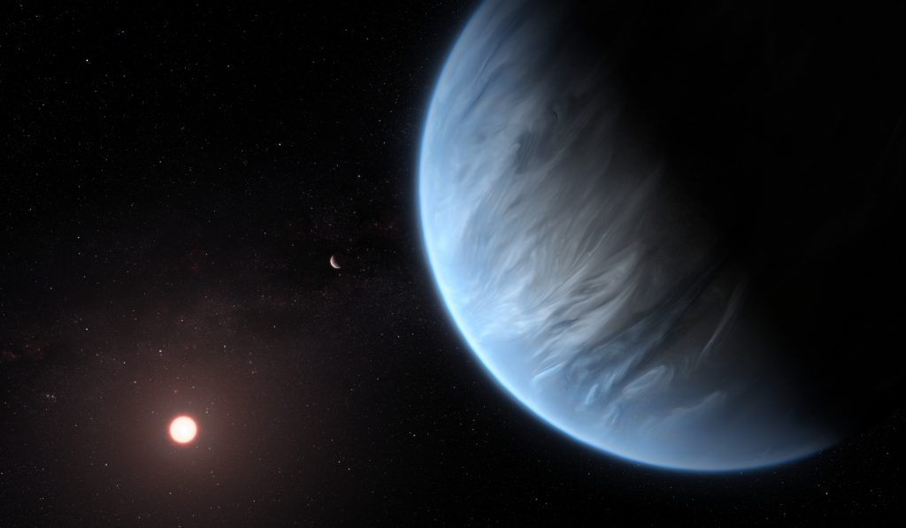 Life in a hydrogen-rich atmosphere