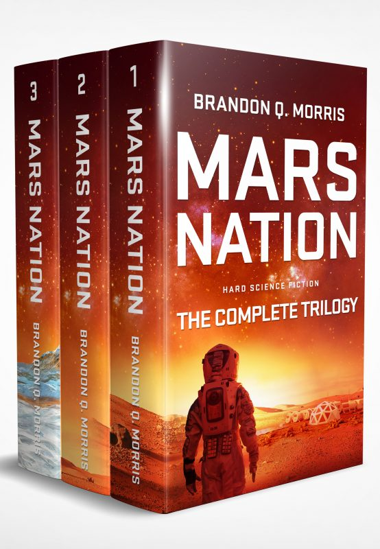Mars Nation: The Complete Trilogy