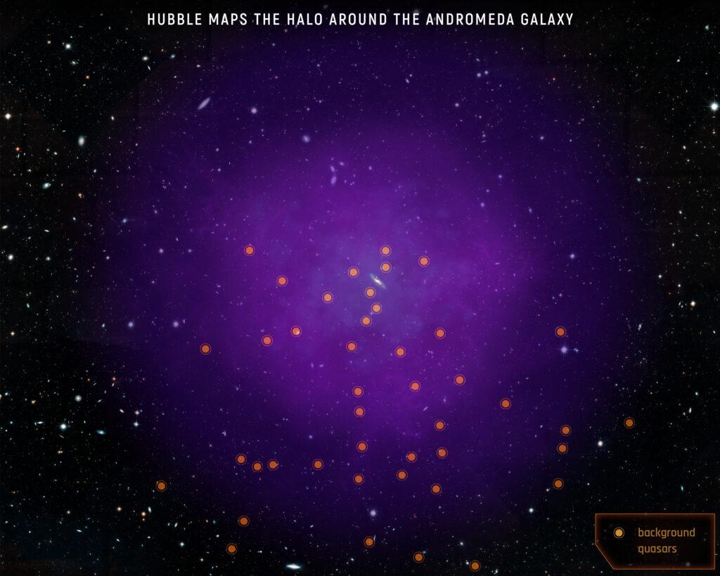 Milky Way vs. Andromeda: the collision has already begun