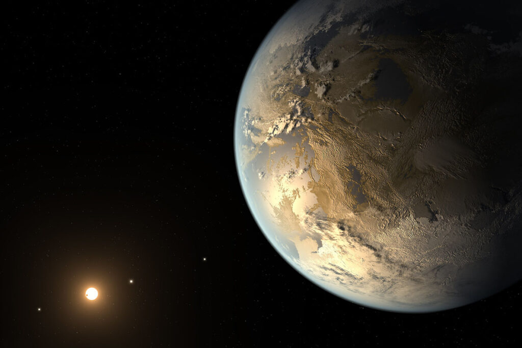 Astronomers are searching for the super planet