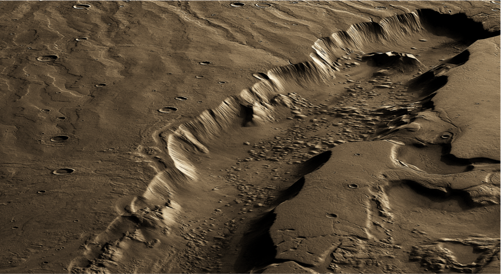 Life on Mars: Search deeper!