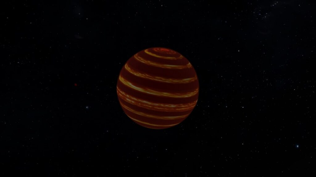 Luhman-16 B: The striped dwarf