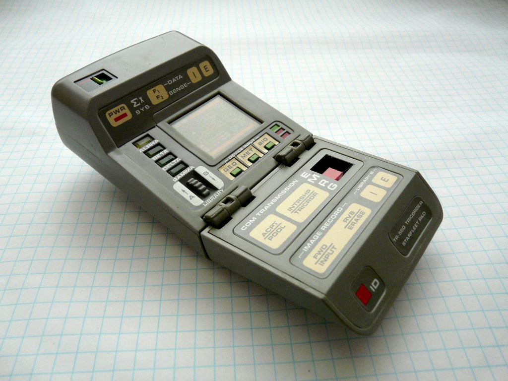 Tricorder & Co: Analyzing substances with a cell phone?