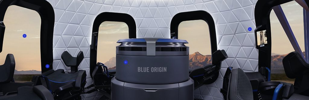 What you need to be able to do as a private astronaut at BlueOrigin