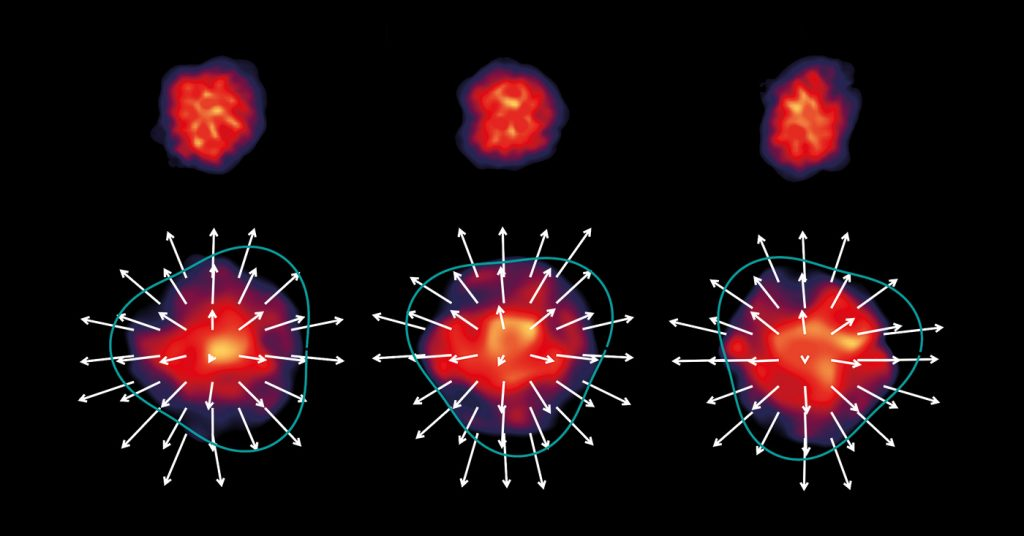 The first millisecond of the universe: How big bang matter drips out of the tap