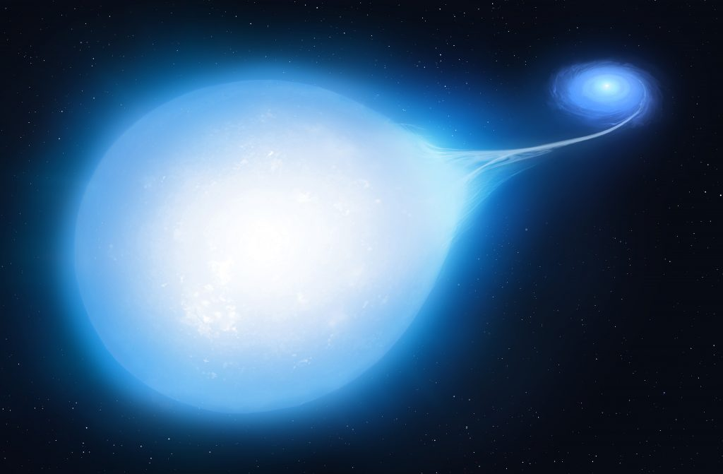 Supernova due to overeating