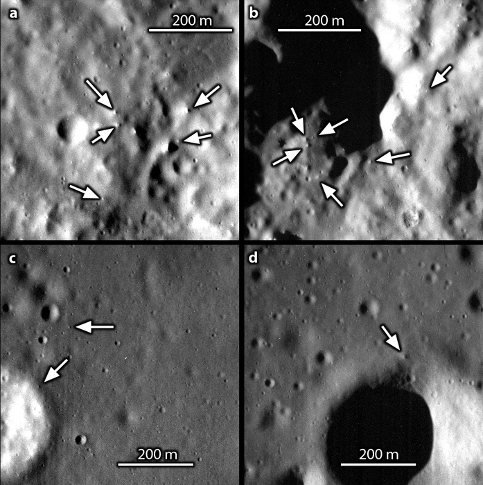 There are fewer boulders lying around on Mercury than on Moon
