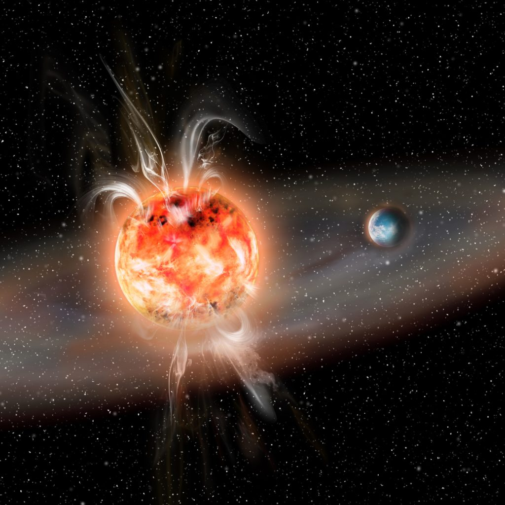 Superflares may not be that dangerous for planets