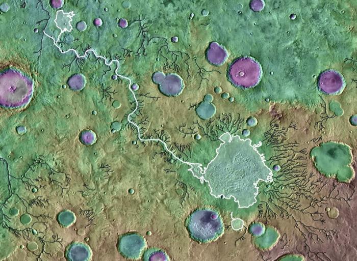 Massive floods on Mars